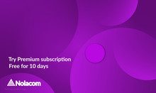 Abstract Geometric Background With Purple Gradient Vanishing Circles