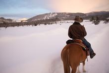 Snowy Horseback Ride 2