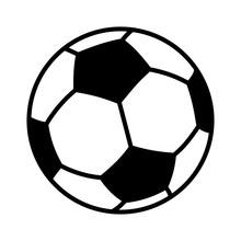 Soccer Ball Or Football Flat V...