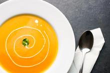 Colorful Butternut Squash Soup...