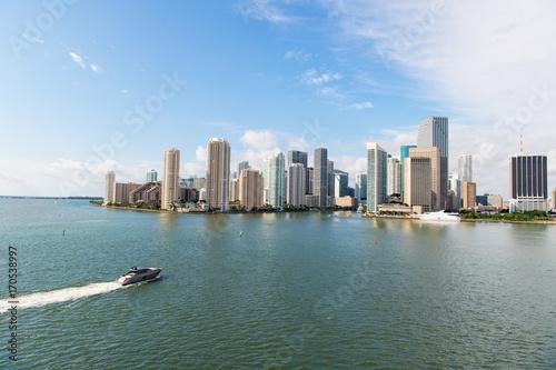 Fototapeta Wieżowiec Miami skyline