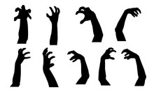 Set Of Vector Silhouettes Of S...