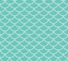 Fish Scales Seamless Pattern. ...