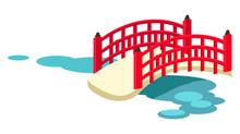 Japanese Arched Garden Bridge ...