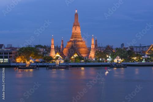 Photo Stands Bangkok Wat Arun