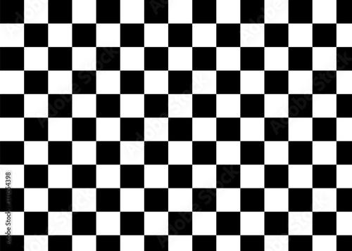 Fototapety czarne - bardzo ciemne czarna-szachownica