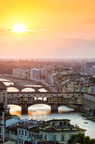 Foto op Canvas Florence Florrence Sunset