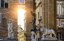 Sculpture Of Loggia Dei Lanzi ...