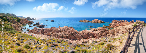 Photo  Felsenküste Costa Paradiso