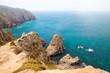 Coastal rocks of Cabo da Roca, landscape