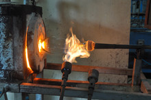 Blowing Glass