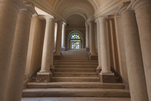 Staircase With Pillars