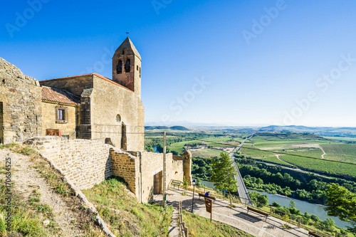 San Vicente de la Sonsierra in La Rioja, Spain