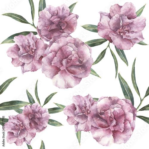 akwarela-bezszwowe-wzor-z-oleander-recznie-malowane-oleander-kwiaty-z-lisci-i-galezi-na-bialym-tle-botaniczny
