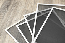 Mosquito Window Screens On Floor