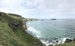 Northern Ireland path to carrick-a-rede