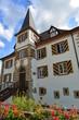 Schloss Entenstein in Schliengen, im Landkreis Lörrach in Baden-Württemberg