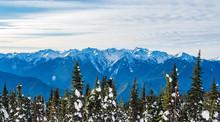 Mount Olympus In Winter, Olymp...
