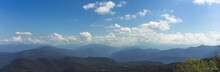 Panorama Of The Mountains And Ridges Of Adygeib Western Caucasus, Russia