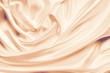 canvas print picture - Smooth Elegant Golden Silk Wedding Background