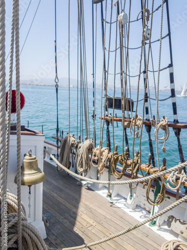 tall ship - brigatine Fotobehang
