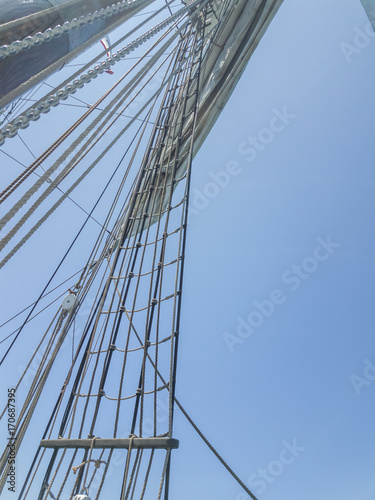 tall ship - brigatine Canvas-taulu