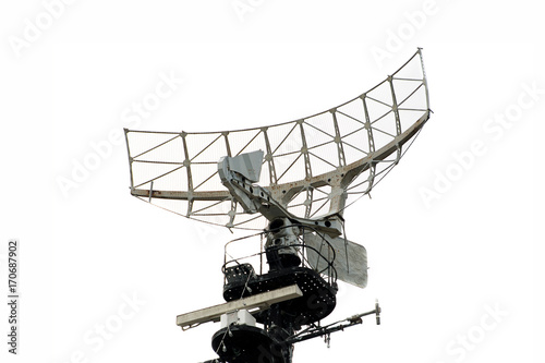 Cuadros en Lienzo  military radar air on a warship