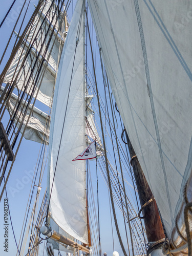 Fotografering tall ship - brigatine