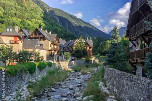 Photo Photographs of the D´Aran Valley in the Spanish Pyrenees.