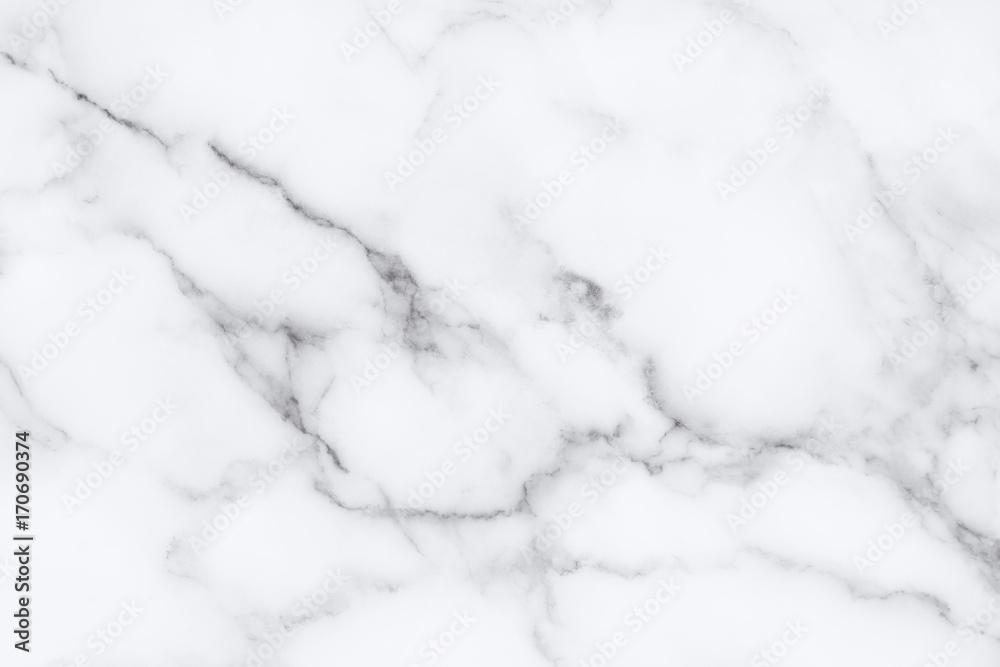 Fototapeta White marble texture and background