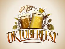 Oktoberfest Sign Or Logo Design