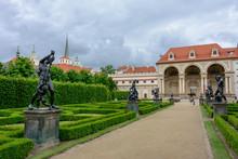 Wallenstein Garden In Prague, Czech Republic