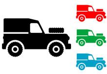 Icono Plano Land Rover Varios ...