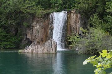 Fototapeta na wymiar Wasserfall