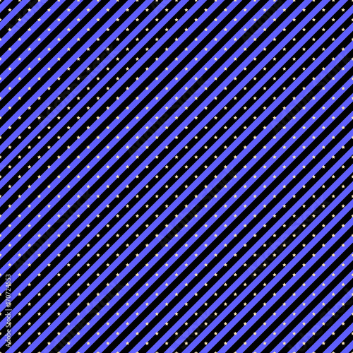 Seamless Pattern With Diagonal Stripes And Stars In Deep Purple Colors Magic Holiday Themed