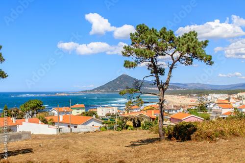 Fotografie, Obraz  Forte de Insua em Caminha, boca do rio Minho Portugal