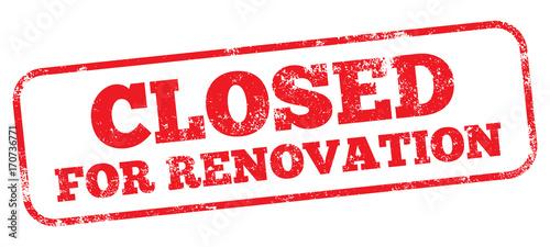 Obraz Closed For Renovation  - fototapety do salonu
