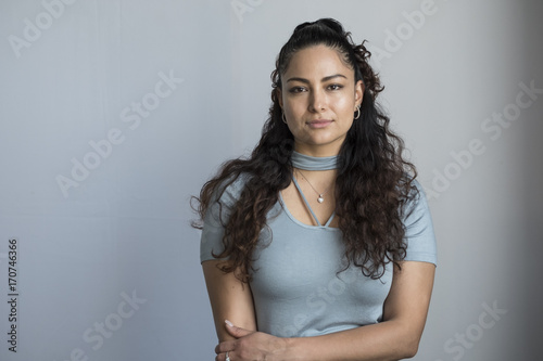 Photo  Portrait of a Hispanic woman