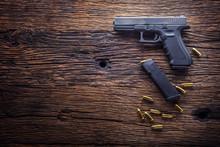 Gun Pistol. 9 Mm Pistol Gun An...