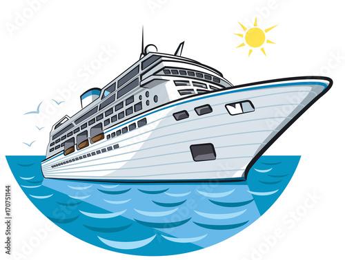 Fotografia big ocean liner