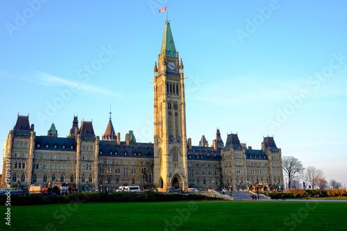 Spoed Foto op Canvas Canada カナダ国会議事堂