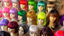 Mannequins Wearing Colorful Wi...