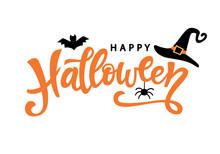 Happy Halloween Typography Pos...