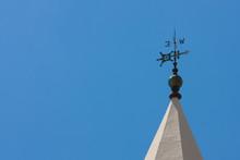 Weather Vane On Church Spire