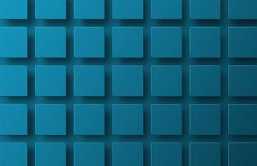 fototapeta 3D kwadraty w powietrzu