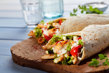 Healthy Tex-Mex Tortilla Wraps