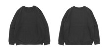 Blank Sweatshirt Color Black T...