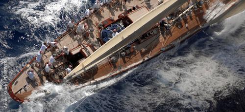 Super Yacht. Fototapete
