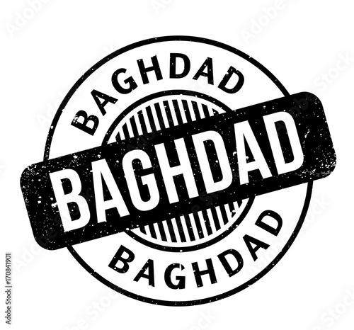 Fotografia, Obraz  Baghdad rubber stamp