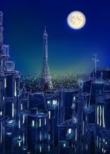 Vector Paris Roof